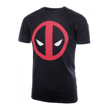 T-shirt Deadpool stylized face