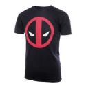 T-shirt Deadpool stylized face maglia Uomo ufficiale Marvel