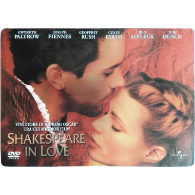Dvd Shakespeare in Love - ed. Steelbook di John Madden 1998 Usato