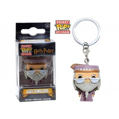 Portachiavi Albus dumbledore Harry Potter Pocket Pop! Vinyl KeyChain Funko