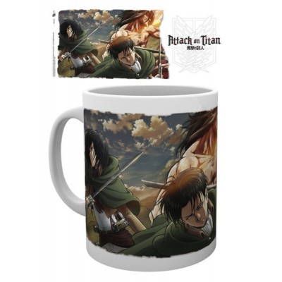 Attack on Titan Season 2 Scouts ceramic Mug