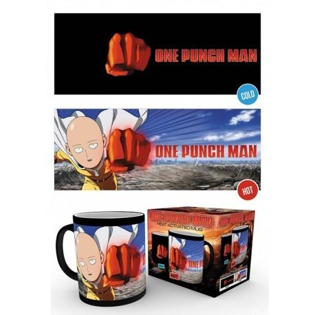 Tazza One Punch Man Saitama Heat Chane Mug