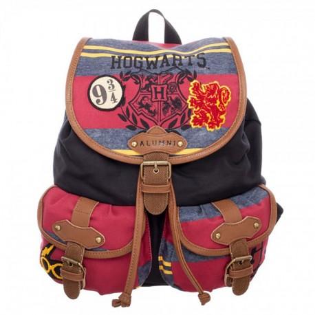 Harry Potter Hogwarts Alumni Knapsack Backpack bag Bioworld