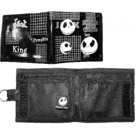 Nightmare Before Christmas Jack Pumpkin King Wallet