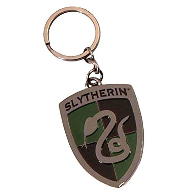 Portachiavi Harry Potter Serpreverde Slytherin crest metal Keychain