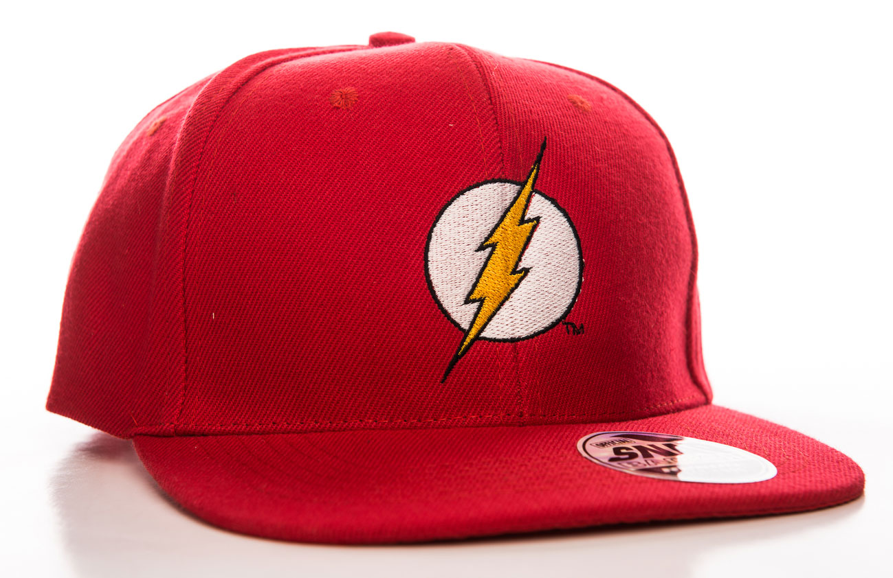 c4ebfbbaf76 DC Comics - Flash Shield red official Snapback Cap Hat