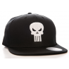 Marvel The Punisher Embroided Skull logo black official Snapback Cap Hat