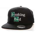 Breaking Bad Embroided logo black official Snapback Cap Hat