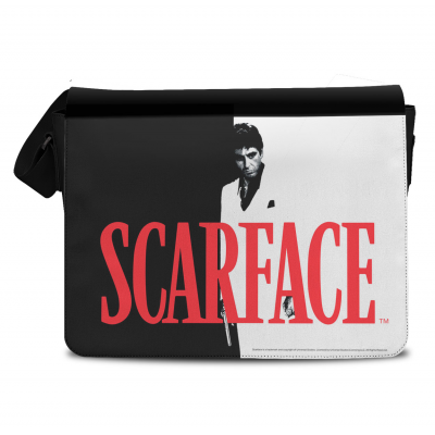 Scarface Poster with Tony Montana messenger bag