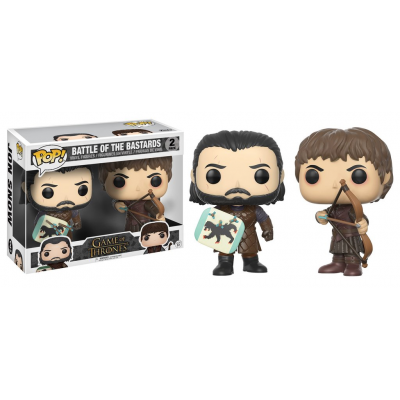 Game of Thrones Battle of the Bastards 2-Pack Pop! Funko Vinyl figure