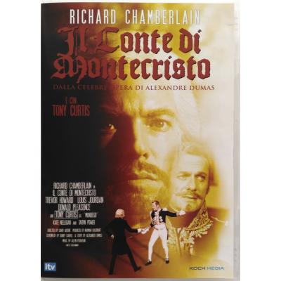 Dvd Il Conte di Montecristo con Richard Chamberlain 1975 Nuovo