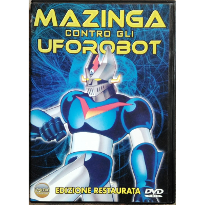 Dvd Mazinga contro gli Uforobot