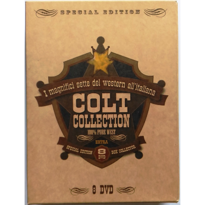 Dvd Western all'italiana Colt Collection