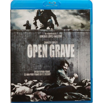 Blu-ray Open Grave
