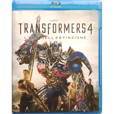 Blu-ray Transformers 4