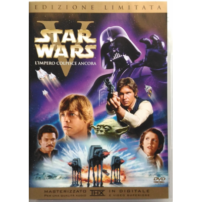 Dvd Star Wars Ep. 5 V - L'impero colpisce ancora ed. limitata 2 dischi Usato