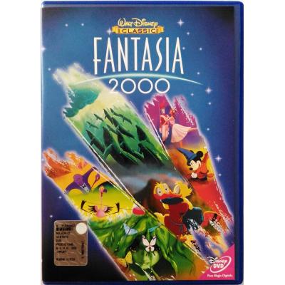 Dvd Fantasia 2000 (Classici Disney) con Ologramma tondo 1999 Usato