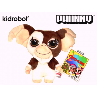 Peluche Gizmo Gremlins 8-Inch Phunny Plush Mogwai ufficiale by Kidrobot