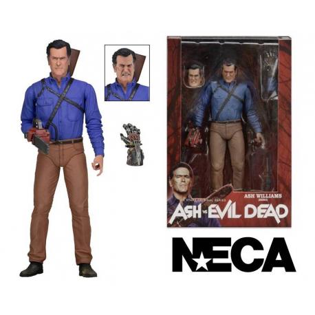 Action Figure Ash vs Evil Dead Ash Williams Hero serie 1 Neca