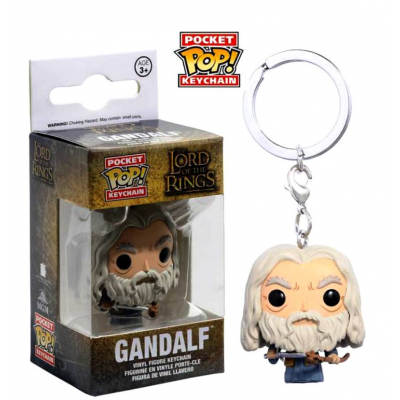 Portachiavi The Lord of the Rings Gandalf Pocket Pop! Vinyl KeyChain Funko