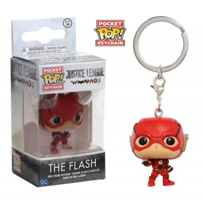 Portachiavi Justice League The Flash Pop Funko