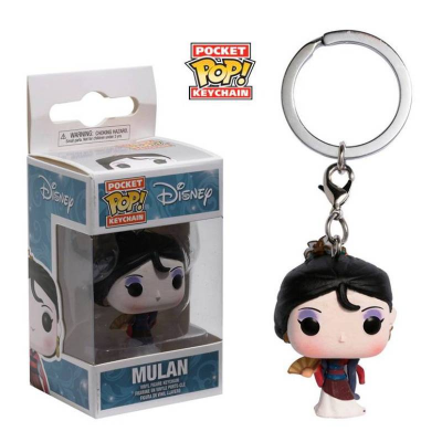 Portachiavi Mulan Disney Princess Pocket Pop! Vinyl KeyChain Funko