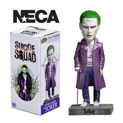 Bobble-head Suicide Squad The Joker Head Knocker Neca