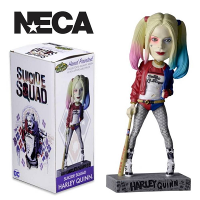 Bobble-head Suicide Squad Harley Quinn DC comics Head Knocker Neca