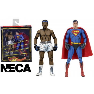 Action Figure Superman vs. Muhammad Ali Neca