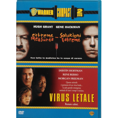 Dvd Warner compact 2 film: Soluzioni Estreme + Virus Letale Usato