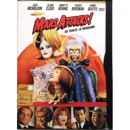 Dvd Mars Attacks ! - Snapper