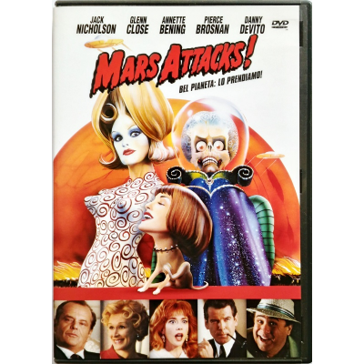 Dvd Mars Attacks