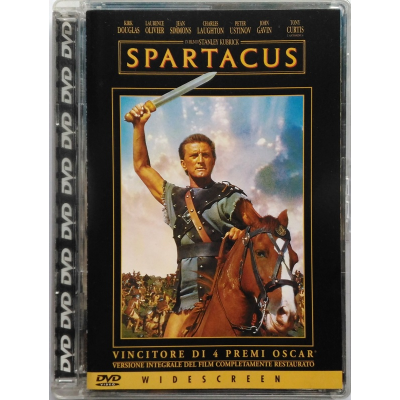 Dvd Spartacus - jewel box Kubrick