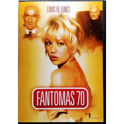 Dvd Fantomas 70