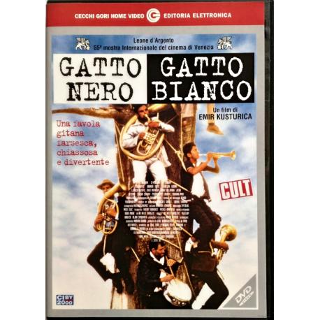 Dvd Gatto Nero Gatto Bianco
