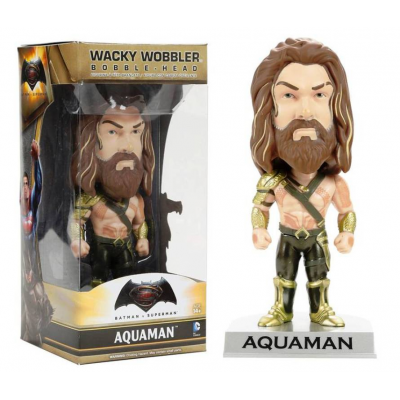 Bobble-Head Batman v Superman Aquaman DC Comics Wacky Wobbler by Funko