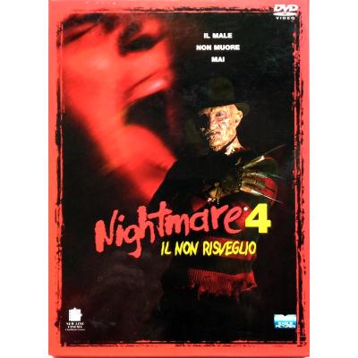 Dvd Nightmare 4 - Il non risveglio - ed. slim digipack