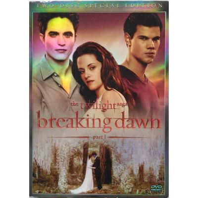 Dvd The Twilight saga - Breaking Dawn part 1