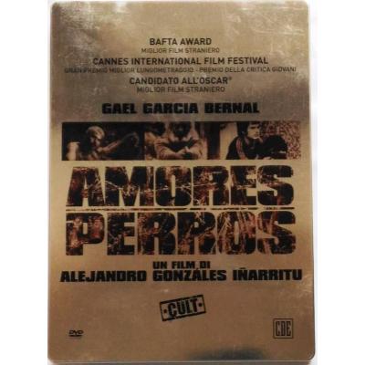 Dvd Amores perros - ed. Steelbook