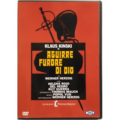 Dvd Aguirre, furore di Dio di Werner Herzog 1972 Usato