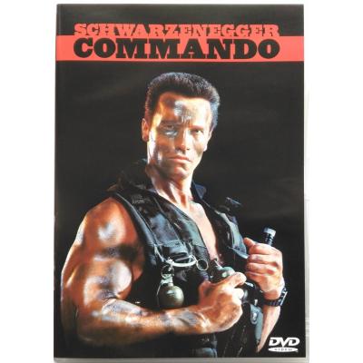 Dvd Commando Schwarzenegger
