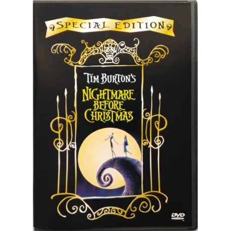 Dvd Tim Burton's The Nightmare Before Christmas Special Edition