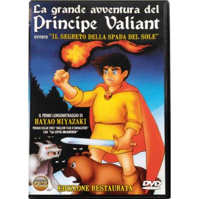 Dvd La grande avventura del Principe Valiant