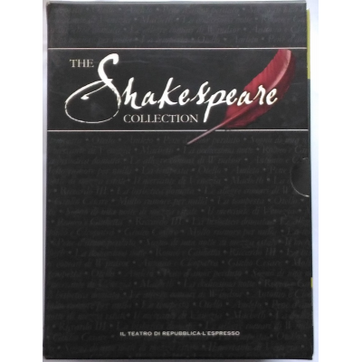 TThe Shakespeare BBC collection - Cofanetto 15 volumi Dvd