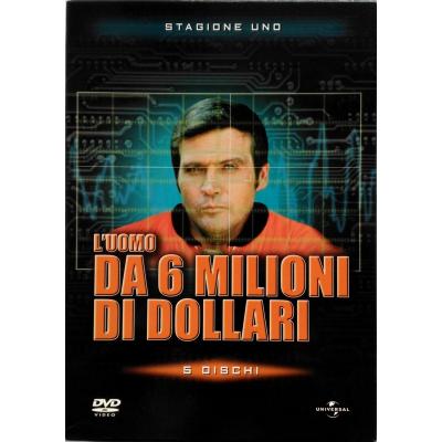 Dvd L'Uomo da 6 milioni di dollari - Stagione uno