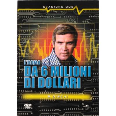 Cofanetto Dvd L'Uomo da 6 milioni di dollari - Stagione 2 due