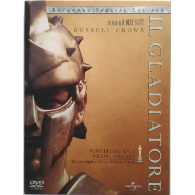 Dvd Il Gladiatore - Special Extended Edition 3 dischi
