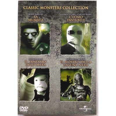 Dvd Classic Monsters Collection box