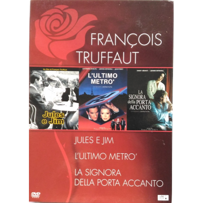 Dvd Francois Truffaut - cofanetto 3 film