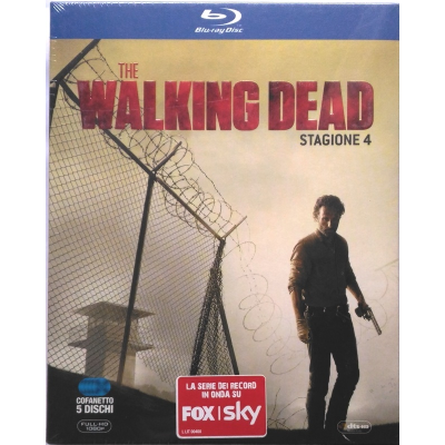 Blu-ray The Walking Dead - Stagione 4